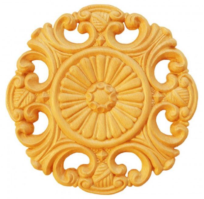 Ornament - runda och ovala