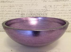 Handfat i glas, Lilac ITA1