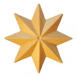 Träornament - Stjärna SRR74-A