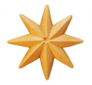 Träornament - Stjärna SRR71