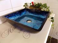 Handfat i glas, Blue Sea SS129